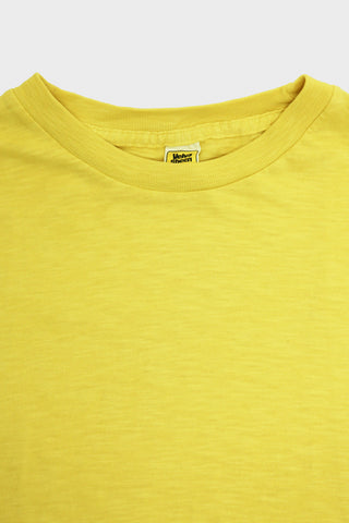 Velva Sheen Short Sleeve Rolled Tee - Light Yellow