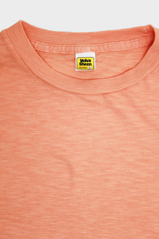 Velva Sheen Short Sleeve Rolled Tee - Pink