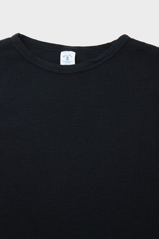 Slub Thermal - Black