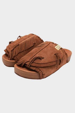 visvim Christo Shaman-Folk - Brown