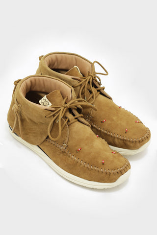 visvim FBT Lhamo shoes - Folk Camel