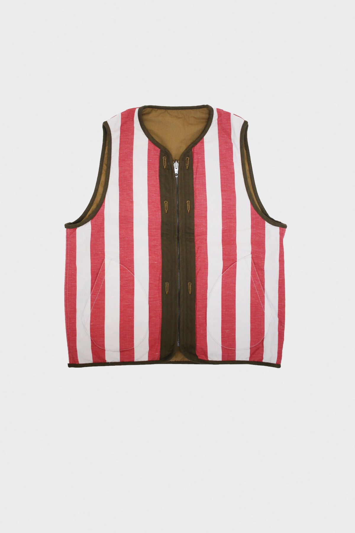 Visvim - Iris Liner Vest - Light Brown - Canoe Club