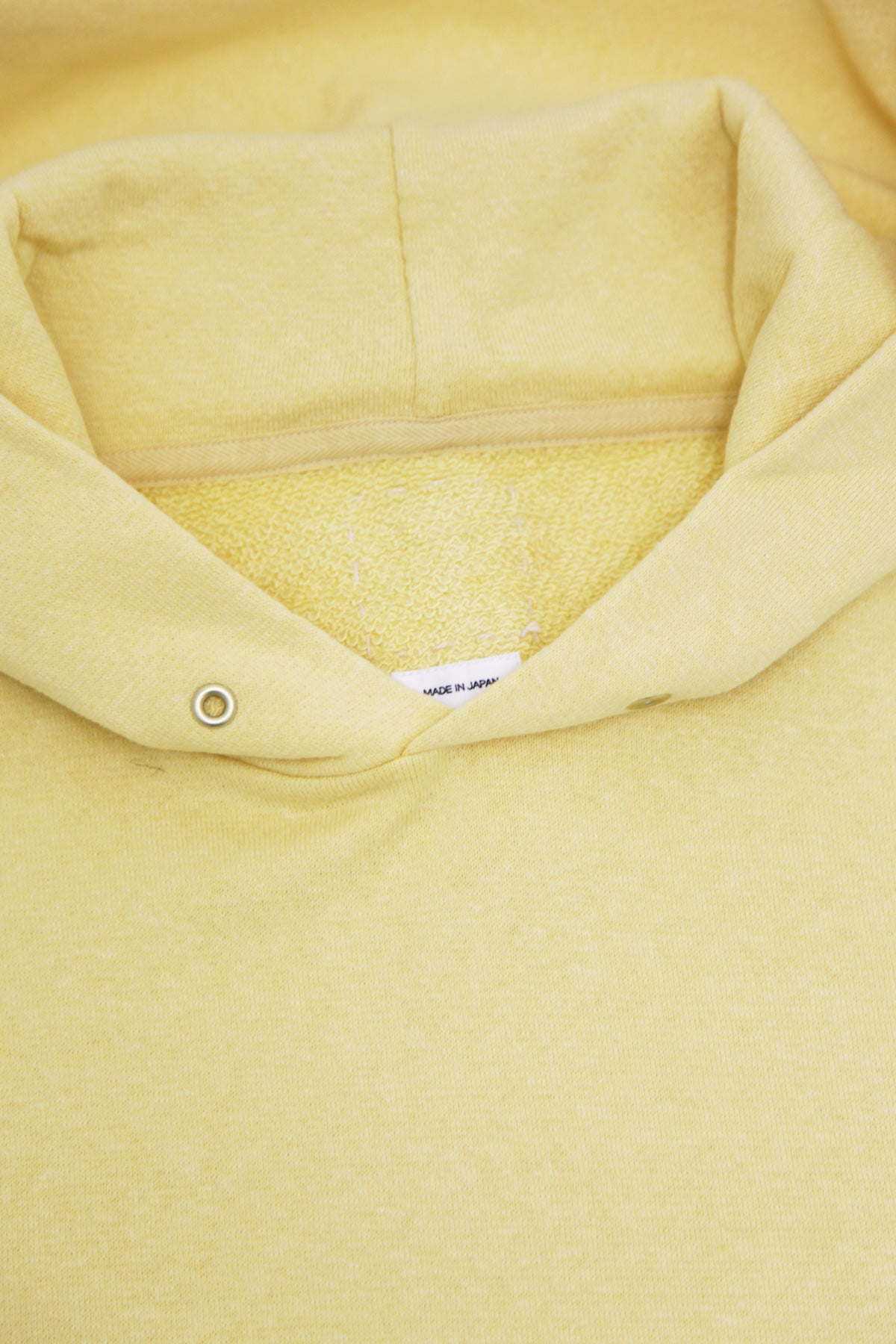 Visvim - Jumbo Hoodie P.O. Stamp - Yellow - Canoe Club