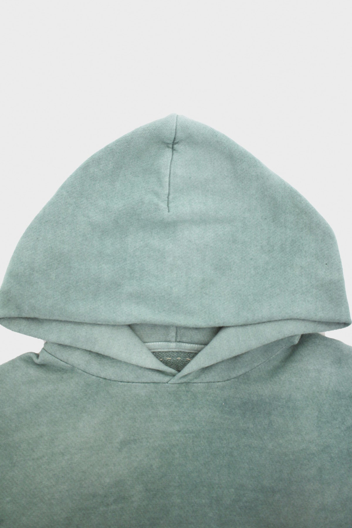 Visvim - Jumbo Hoodie P.O. Uneven Dye - Light Grey - Canoe Club