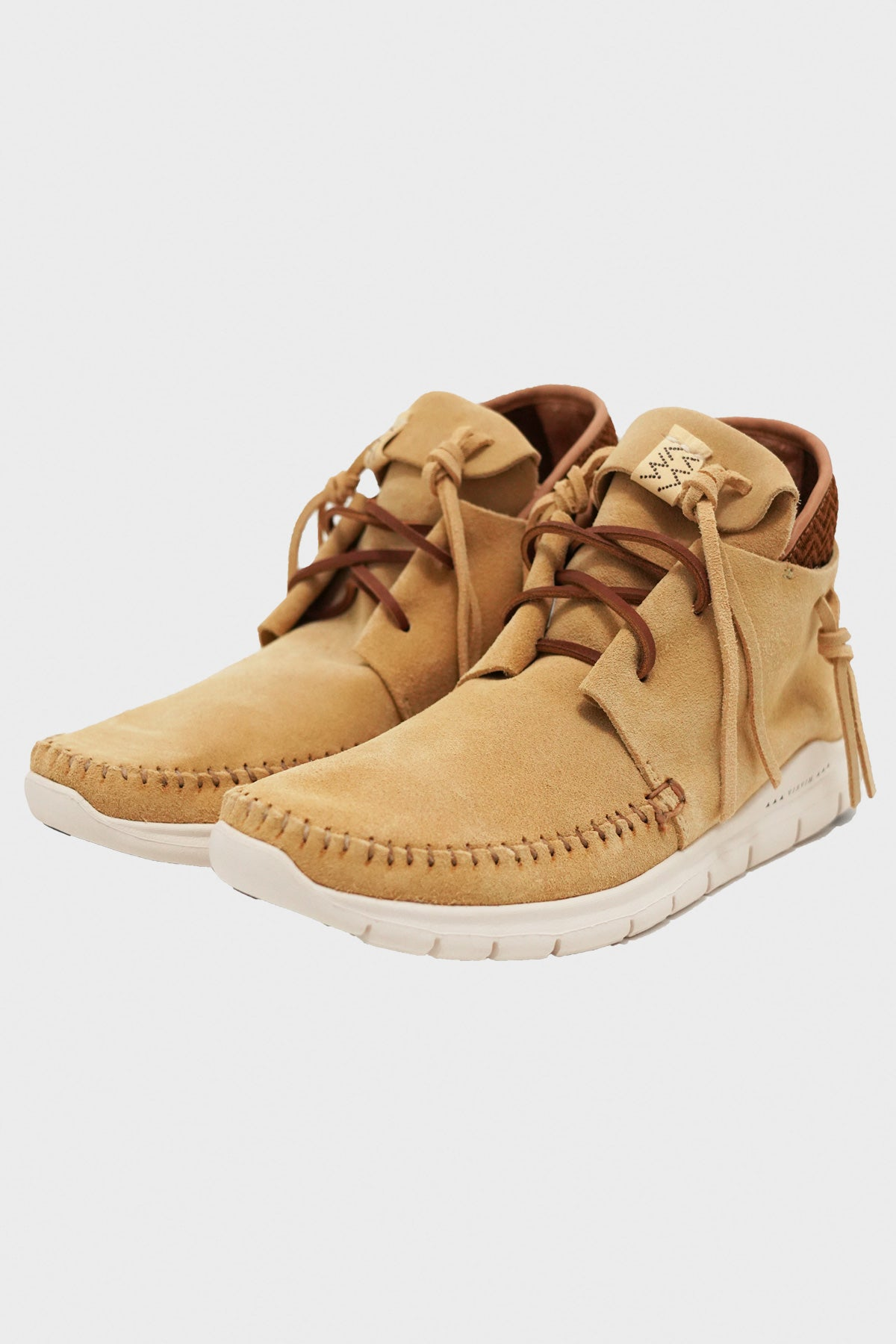 Visvim - Ute Moc Trainer Hi-Folk - Yellow - Canoe Club