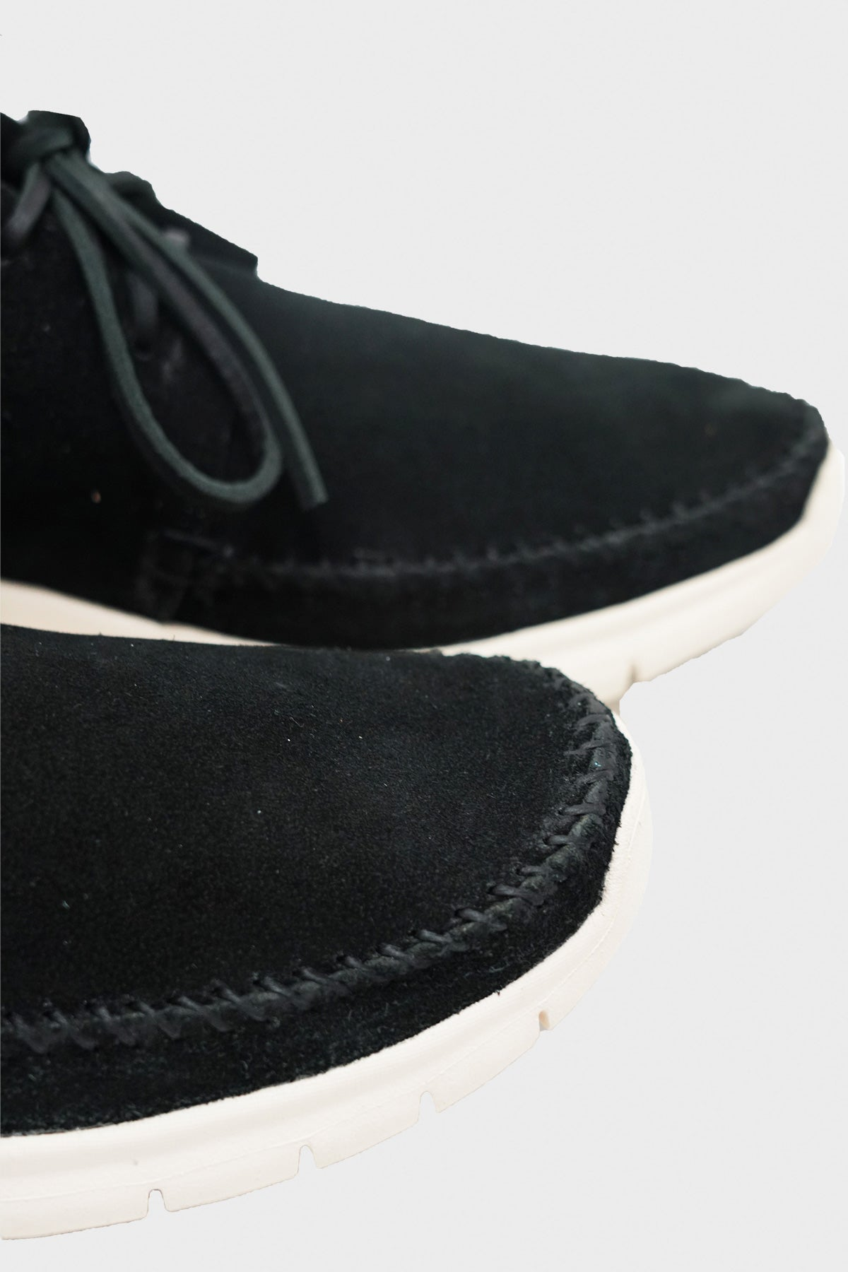 Visvim - Ute Moc Trainer Mid-Folk - Black - Canoe Club