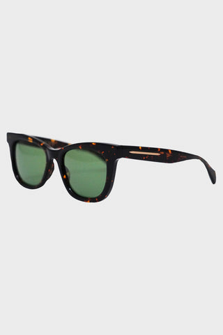 visvim Viator Sunglasses Roadmaster - Dark Brown