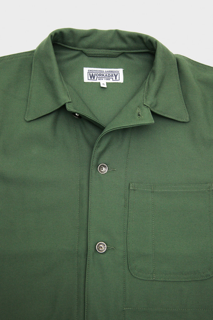 Workaday By Engineered Garments Utility Jacket Olive
