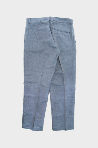Hand Me Down Trouser - Navy Pin Check