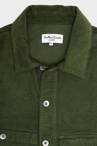 you must create (ymc) Pinkley Jacket - Olive Checker Cord
