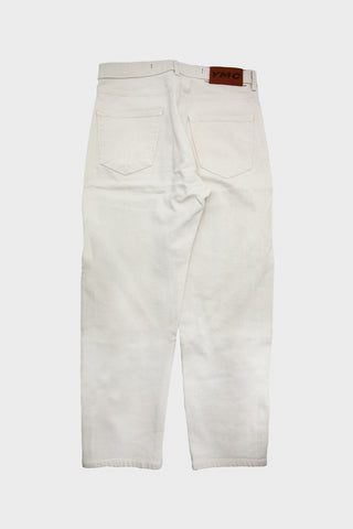 Tearaway Jean - Cream Irregular Twill