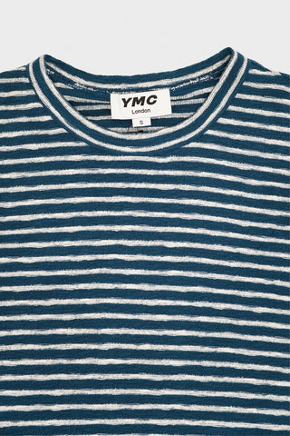 you must create (ymc) X Sweat - Blue/Ecru