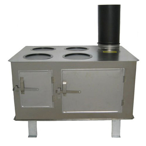 Sheet Iron Camp Stoves