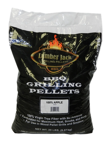 Lumber Jack 100% Apple Wood BBQ Pellets