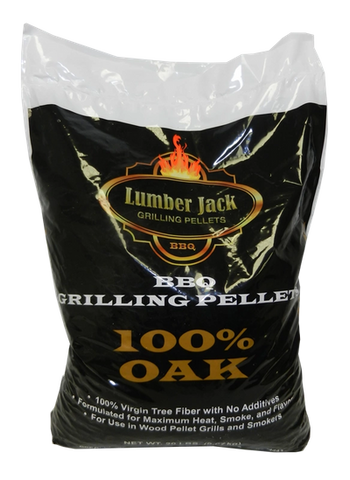 Lumber Jack 100% Oak Wood BBQ Pellets