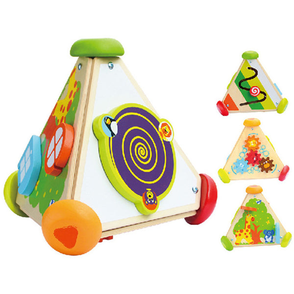 4 in 1 Triangle Activity Cube