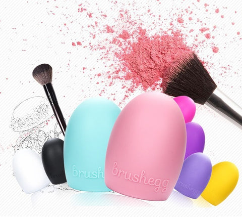 3PK Silicon Gel Makeup Brushes Cleaner