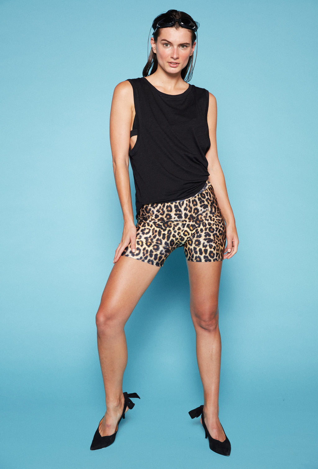 HOTPANTS LEOPARDO