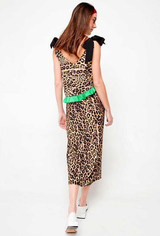 VESTIDO SIMPLE SUMMER LEOPARDO