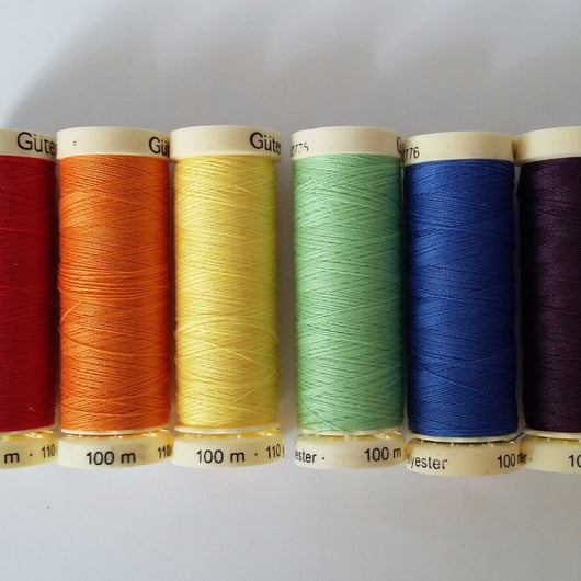 Gutermann Sew All Polyester Thread 100m Haberdashery - Cotton Reel Studio