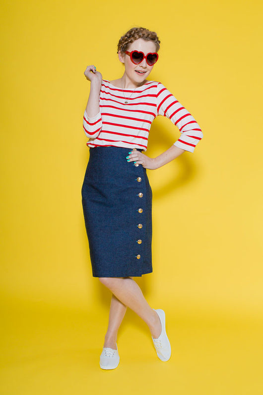 Tilly & the Buttons Arielle Skirt Sewing Patterns - Cotton Reel Studio