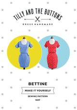 Tilly & the Buttons Bettine Dress Sewing Patterns - Cotton Reel Studio