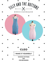 Tilly & the Buttons Cleo Pinafore + Dungaree Dress