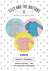 Tilly & the Buttons Coco Top + Dress Sewing Patterns - Cotton Reel Studio