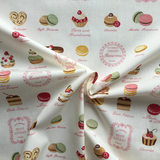 Cotton Poplin Patisserie Fabric - Cotton Reel Studio