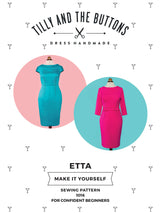 Tilly & the Buttons Etta Dress Sewing Patterns - Cotton Reel Studio