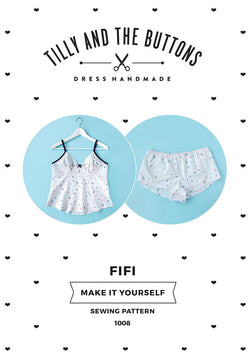 Tilly & the Buttons Fifi Pyjamas