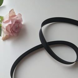 Bias Tape Satin Black