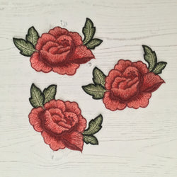 Sew on Patch Rose