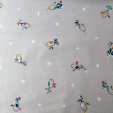 Dashwood Studio Club Tropicana Pink Bird Fabric - Cotton Reel Studio