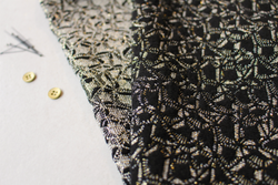 Atelier Brunette Jacquard Shimmer Chic - Available at Cotton Reel studio