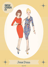 Sew Over It Joan Dress Sewing Patterns - Cotton Reel Studio