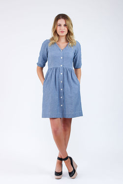 Megan Nielsen Darling Ranges Shirt Dress
