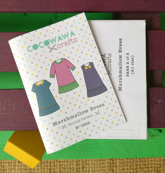 CocoWawa Marshmallow Dress Sewing Patterns - Cotton Reel Studio