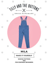 Tilly & the Buttons Mila Dungarees Sewing Patterns - Cotton Reel Studio