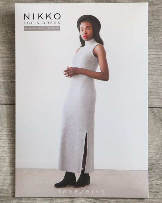 True Bias Nikko Top and Dress Sewing Patterns - Cotton Reel Studio
