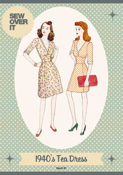 Sew Over It 1940's Tea Dress