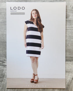 True Bias Lodo Dress Sewing Patterns - Cotton Reel Studio