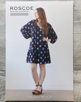 True Bias Roscoe Blouse and Dress Sewing Patterns - Cotton Reel Studio