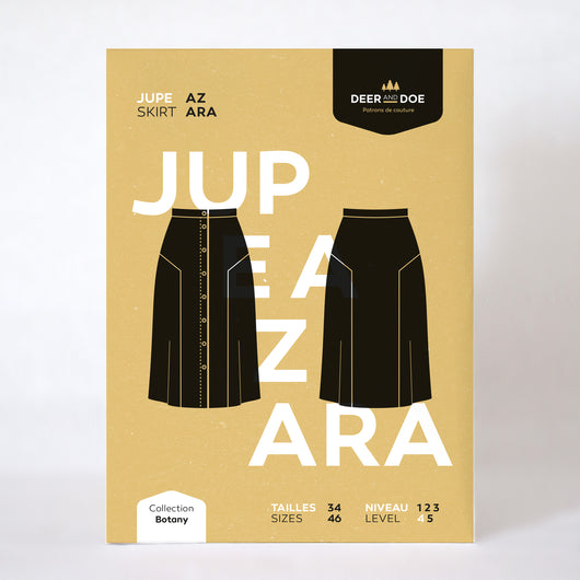 Deer & Doe Azara Skirt Sewing Patterns - Cotton Reel Studio