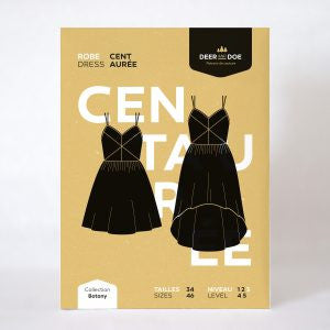 Deer & Doe Centaurée Dress Sewing Patterns - Cotton Reel Studio