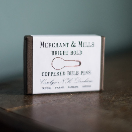 Merchant & Mills Coppered Bulb Pins Haberdashery - Cotton Reel Studio