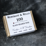 Merchant & Mills Glass Headed Pins Haberdashery - Cotton Reel Studio