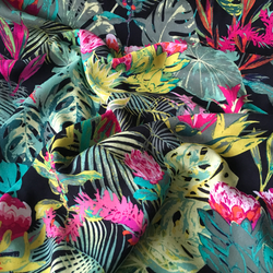 Art Gallery Fabrics Rayon Tropicalla Esoterra