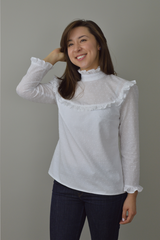Nina Lee Bloomsbury Blouse Sewing Patterns - Cotton Reel Studio