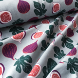 Organic Cotton French Terry Fig